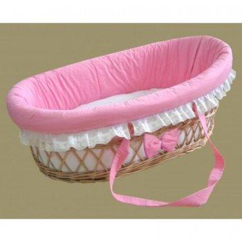 Lenjerie roz pentru cos de rachita