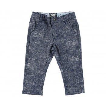 Pantaloni  bluemarin cu imprimeu - Idokids