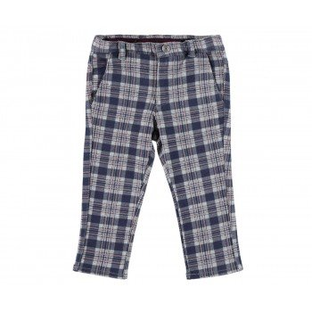 Pantaloni in carouri gri - Idokids
