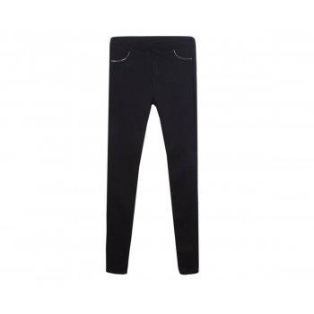 Pantaloni tip colant negri