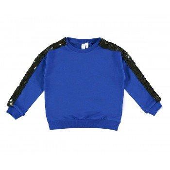 Bluza cu paiete negre - Idokids