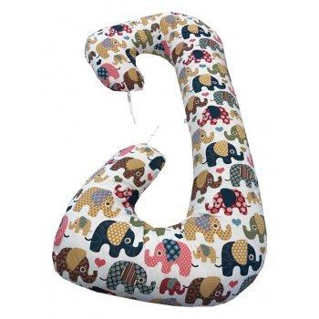 Perna pentru gravide si alaptare imprimeu elefantei