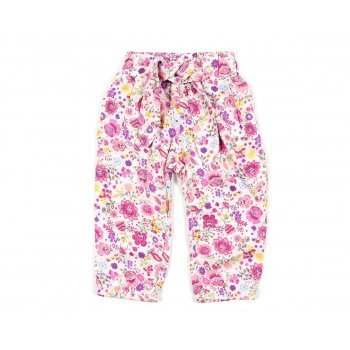 Pantaloni imprimeu floral