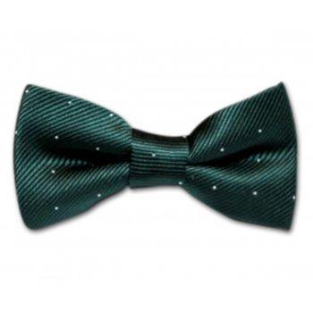 Papion verde cu buline