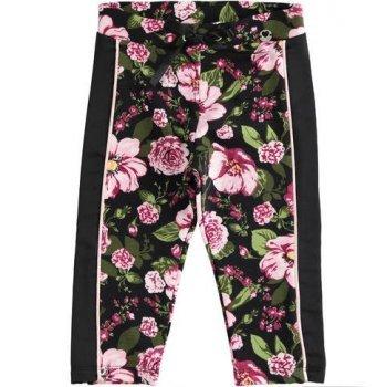 Pantaloni cu print floral - Idokids