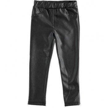Pantaloni tip colant din piele ecologica - Idokids