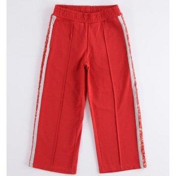 Pantaloni rosii cu paiete - Idokids
