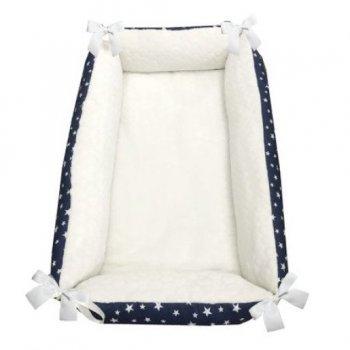 Reductor Bebe Bed Nest cu 2 fete cocolino - bumbac imprimeu stelute