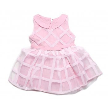 Rochie roz pudra cu tulle
