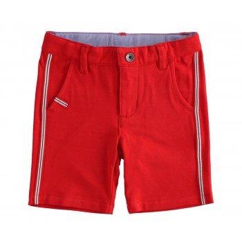 Pantaloni rosii scurti - iDO Kids